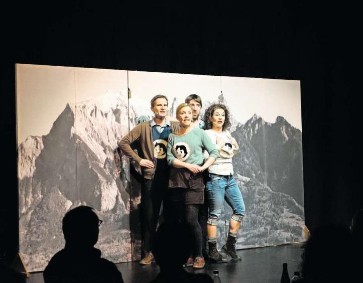 Das Quartett Urstimmen zieht das Publikum in seinen Bann. (Bild PD)