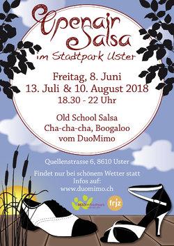 Openair Salsa im Stadtpark Uster