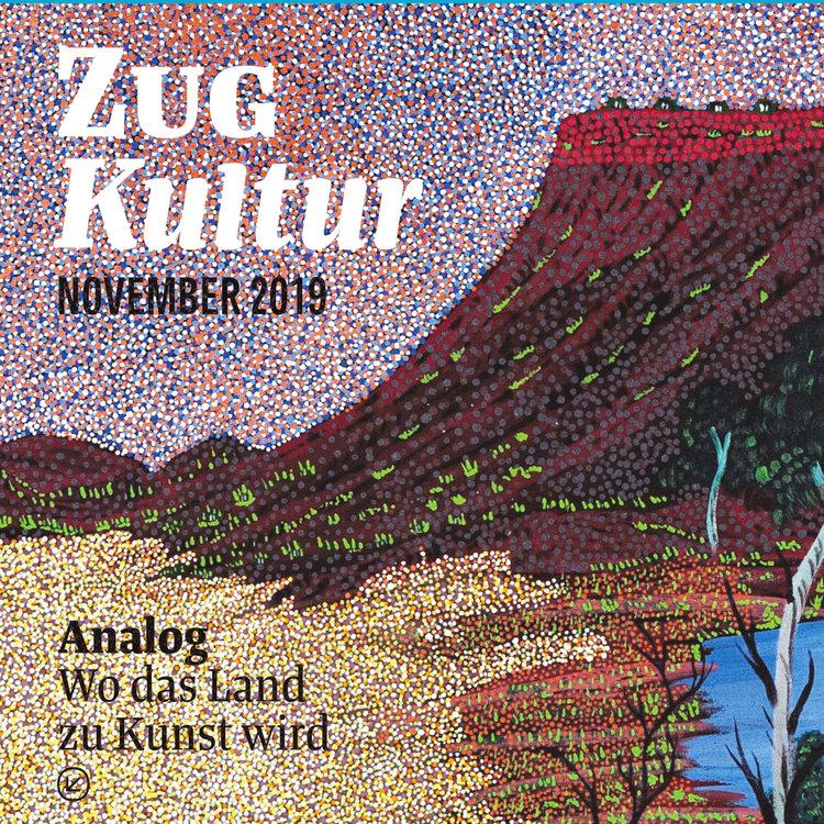 Aboriniges-Malerei und Zukunftsmusik in der neuen Ausgabe.