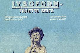 Lysoform Werbeplakat