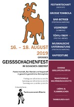 Geissschachenfest und Vespatreff 2019