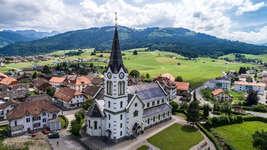 Kirche Plaffeien