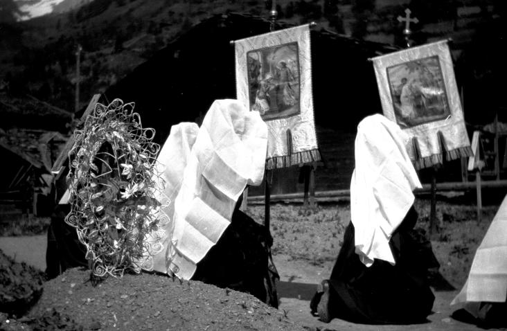 Kippel, Schwarzweiss - Fotograf Nyfeler