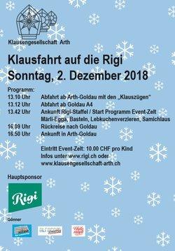Klausfahrt nach Rigi Staffel - 1