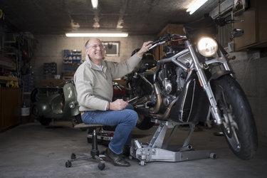 «Das Reisen mit dem Motorrad – nur mit dem Nötigsten dabei – ist für mich der Inbegriff von Freiheit.»
