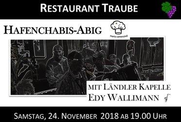 Hafenchabis Abig mit Kapelle Edy Wallimann, Restaurant Traube, Gersau - 1
