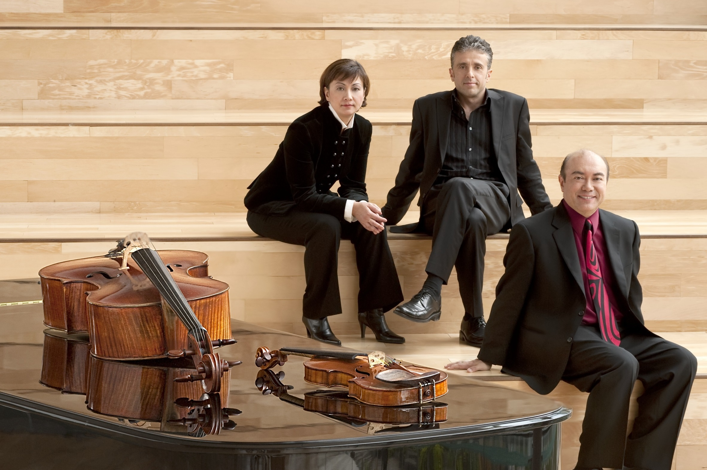 Gryphon trio kanada - konzert in der kunsthalle ziegelhütte