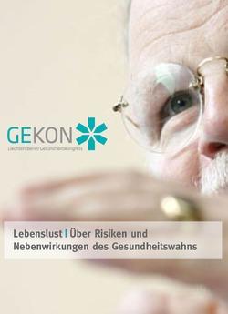 """GEKON Vortrag """"Lebenslust"""""""