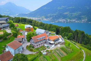 Der Tagungsort des Zukunftsforums «Ethical Fashion Switzerland», das Seminarhotel Lihn, setzt auf Nachhaltigkeit. Bild: www.lihn.ch