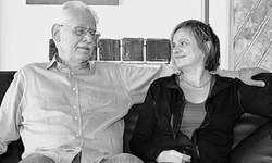 Lucia Coray und Henry F. Levy können auf erfolgreiche Jahre der Stiftung Binz39 zurückblicken. Ausruhen ist dennoch nicht angesagt. Bild Andreas Feichtinger