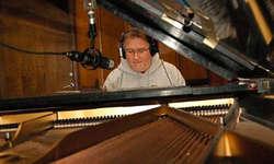 Dusty Boots im Studio: Piano-Aufnahmen.
