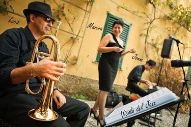 Livemusik im Hof Ragaz: Trio Vicolo del Jazz
