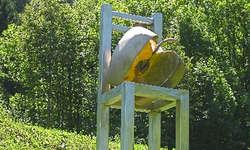 Luigi a Marca kreierte diese speziellen Big Apple-Stühle.