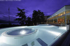 Vollmond Badeplausch im BEATUS Wellness- & Spa-Hotel Merligen