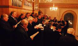Susanne Theiler Schönbächler dirigierte zum letzten Mal den Männerchor Einsiedeln. Bild Franz Kälin