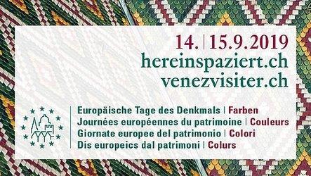 Europäische Tage des Denkmals: Mut zu Farben in Dörfern und Städten