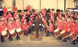Grosses Können: Das Repräsentationsorchester der Schweizer Armee spielte auch den bekannten «Hoch und Deutschmeister Regimentsmarsch». Bild Werner Geiger