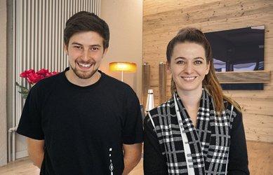 Dario Fischli und Jasmine Nef