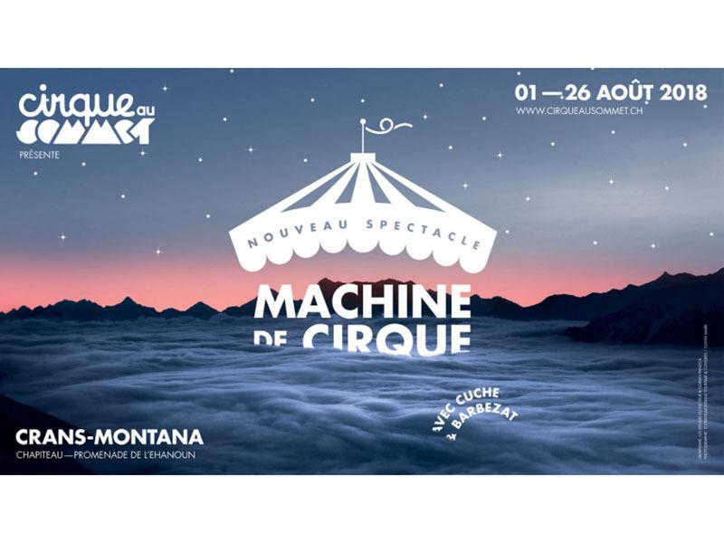 Cirque au sommet - Machine de cirque