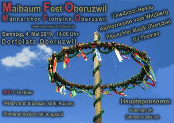 Maibaum Fest Oberuzwil Samtag, 4. Mai 2019