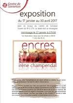 Exposition Encres & Senteurs - Irène Champendal