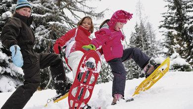 Schneeschuhlaufen