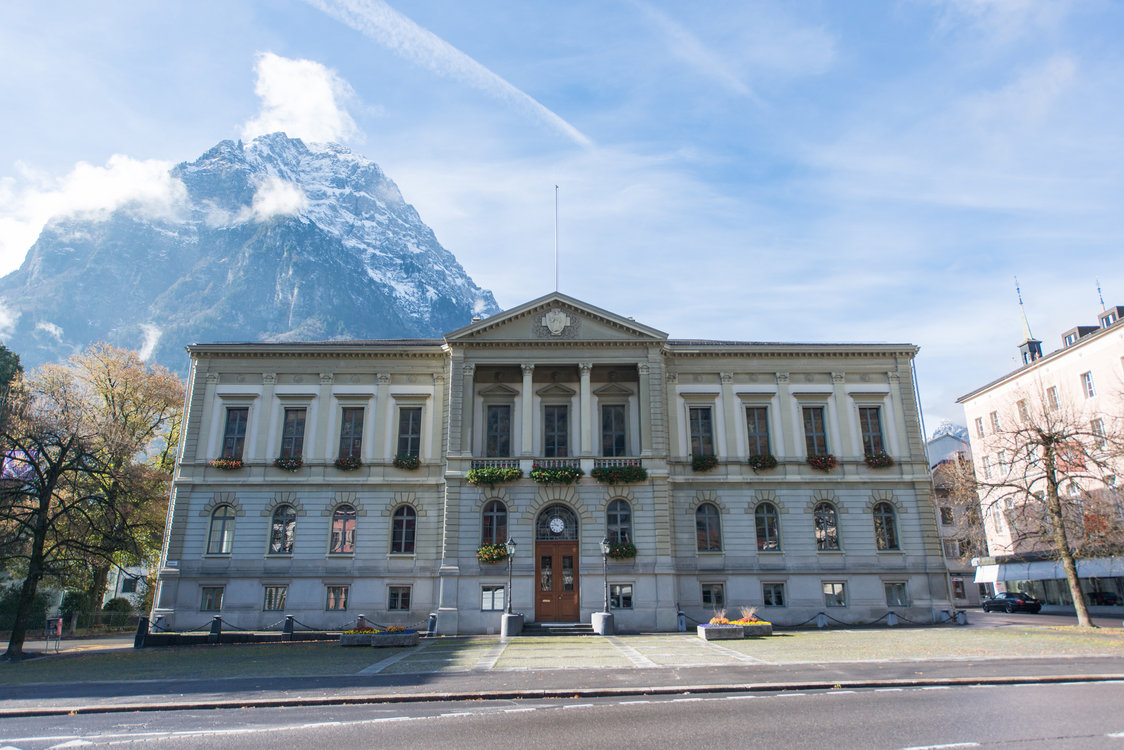 Rathaus Glarus (Bild: Kanton Glarus, Samuel Trümpy Photography)