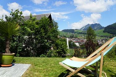 Bijou am Bach Sitzplatz