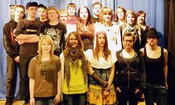 Die Musik-Wahlfachklasse wusste zu überzeugen. Bild Kurt Fässler