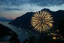 1. August-Feier mit grossem Feuerwerk