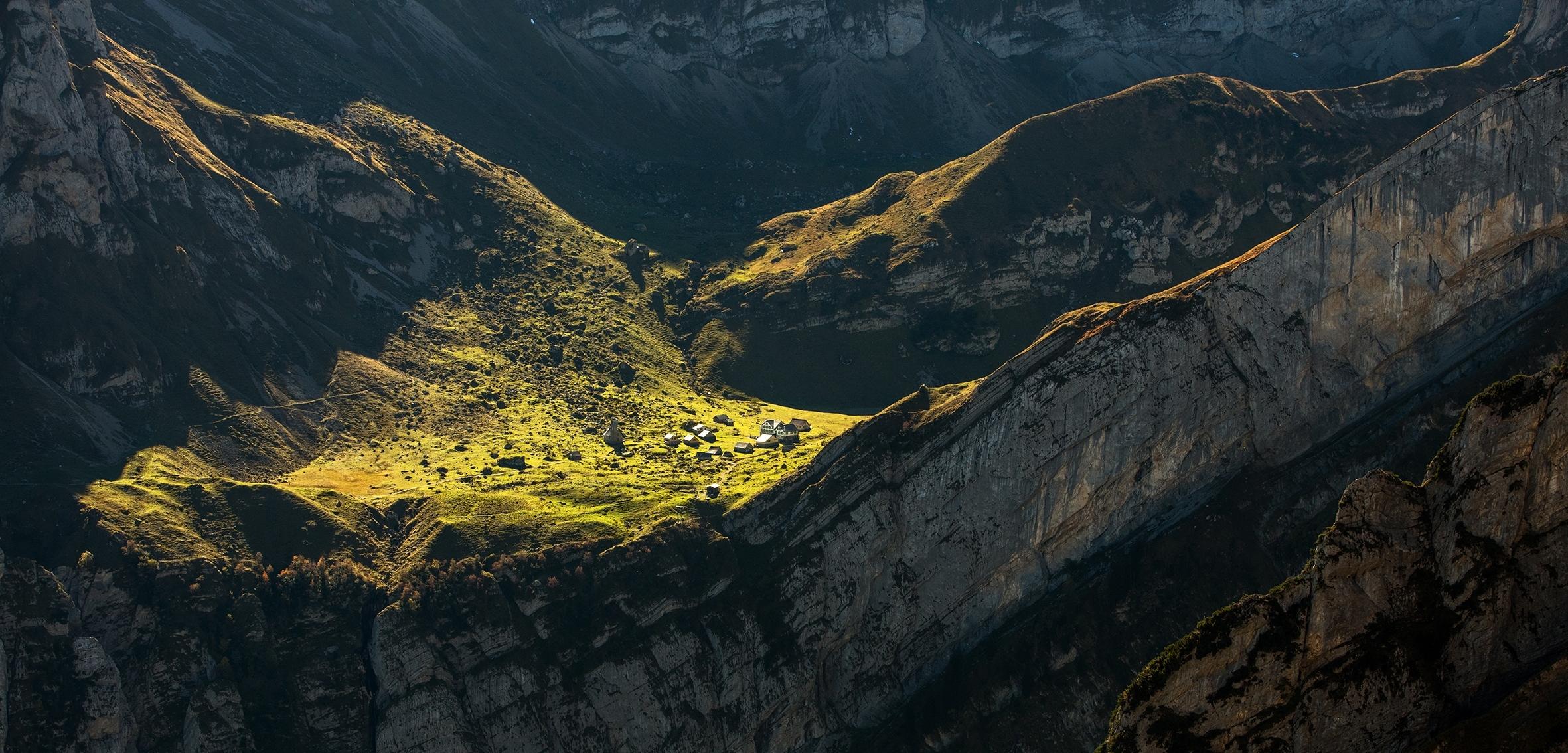 Wildschmaus im Berggasthaus Meglisalp