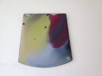 Romuald Etter, Equilibre, 2014, Kunstharz auf Glas, Kanton Zug © Künstler