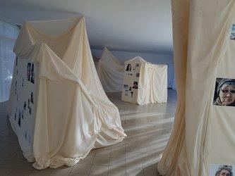 Martin Stützle und Fridolin Walcher Installation