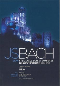 Sion en Lumières/ Bach - 1