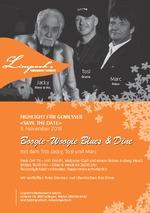 Boogie-Woogie Blues & Dine mit Jacky