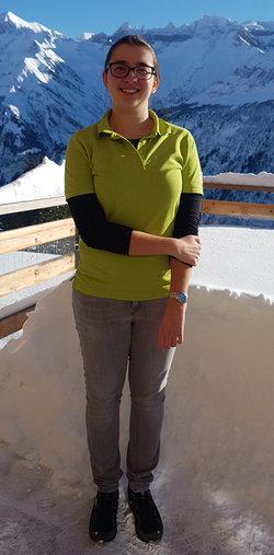 Sandra Werder, gelernte Hotelfachfrau