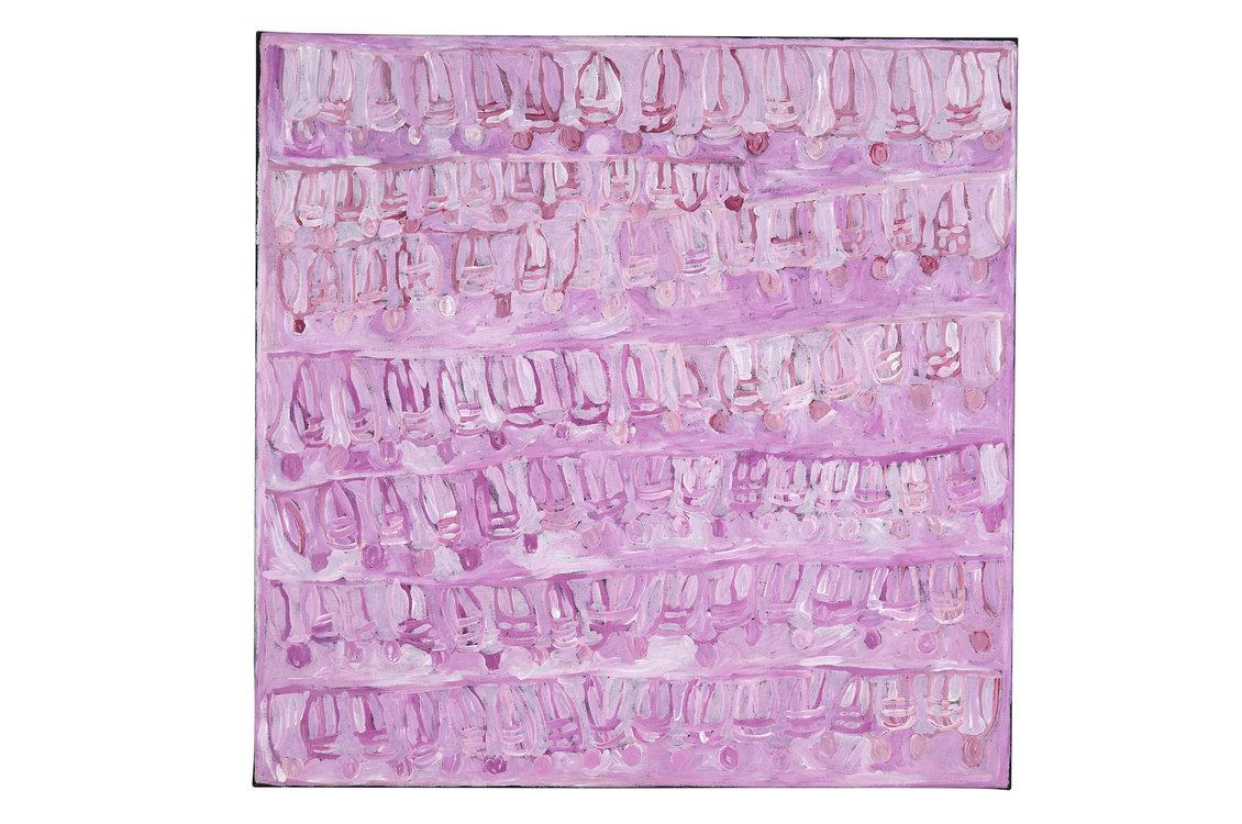 Maisie Bundey, Body Painting & Yam Seed of Alalgura, 2008, Sammlung Pierre und Joëlle Clément, Zug