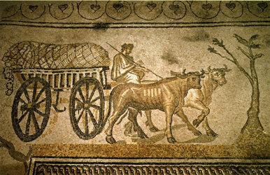 Orbe roman mosaics (© Armand Dériaz)