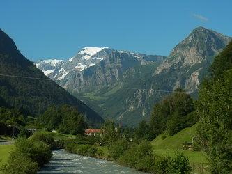 Glarner Berge mit Tödi