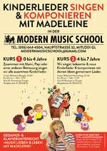Kinderlieder SINGEN und KOMPONIEREN mit Madeleine