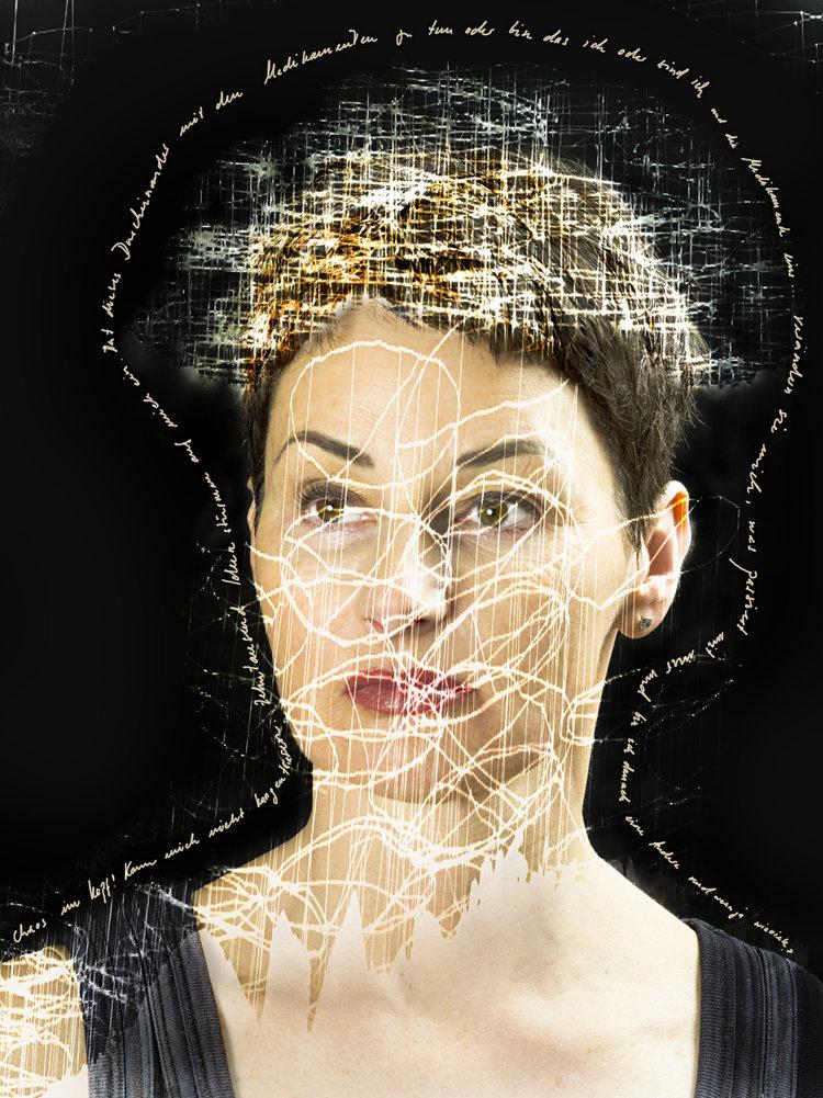 Eva Iten im Selbstportrait. (Bild: Eva Iten)