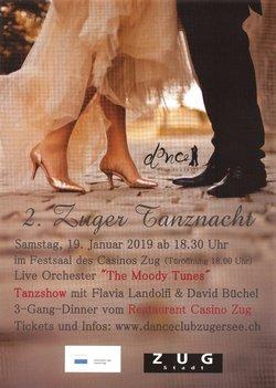 Flyer 2. Zuger Tanznacht