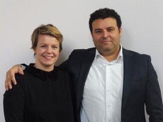 Rikke und Hichem Atia-Eskildsen freuen sich auf ihre neue Herausforderung im Restaurant Bergli.