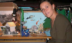 Bettina Dieterle ist bereits zum achten Mal als Regisseurin in Immensee tätig.
