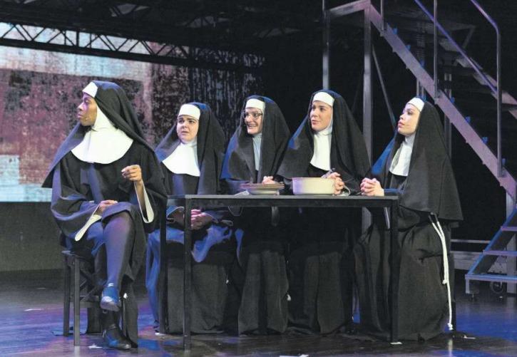 Chanelle Wyrsch (zweite von rechts) ist mit ihrer Rolle sehr zufrieden. (Bild PD)