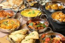 Indisches Mittagsbuffet