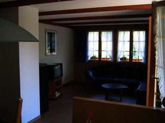 Ferienwohnung Elim, Adelboden, Wohnzimmer