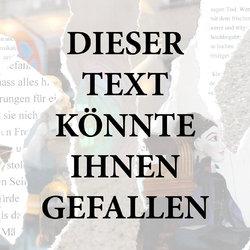 DIESER TEXT KÖNNTE IHNEN GEFALLEN - Junge Kunst aus Uster