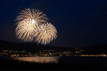 Feuerwerk (Foto: Alfred Frommenwiler)