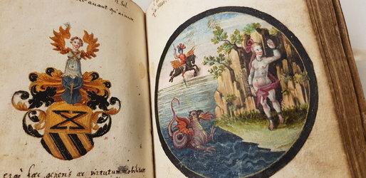 Emblematik im Freundschaftsbuch Joh. Jakob Elisners 1620